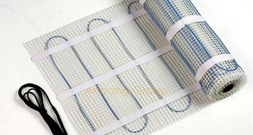 Heat Tracing Cable Suppliers Heating Mat Underfloor
