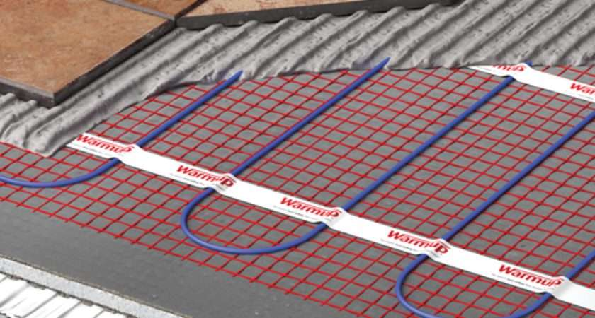 Heated Floor Mat Electric Underfloor Heating Warmup