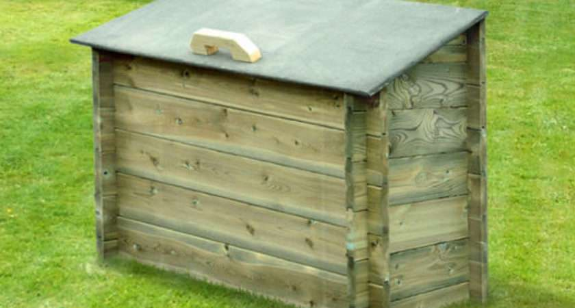 Heavy Duty Outdoor Storage Box Garden Chest
