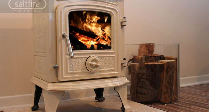 Hendon Cream Enamel Stoves Woodburning