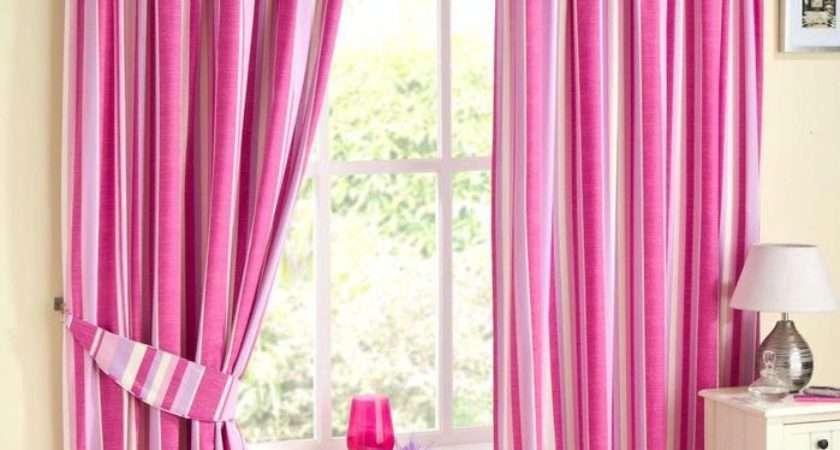 Henley Pink Pencil Pleat Cotton Curtains Ready Made