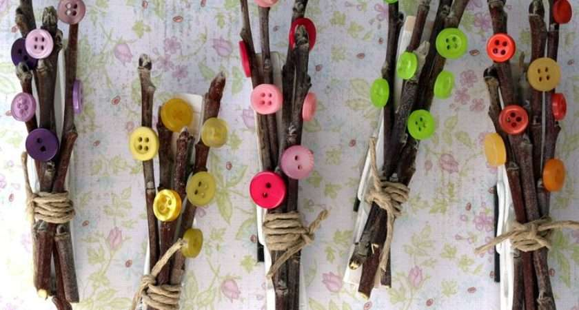 Here Midnight Epiphany Bitty Branches Blossoms Clothes Pin