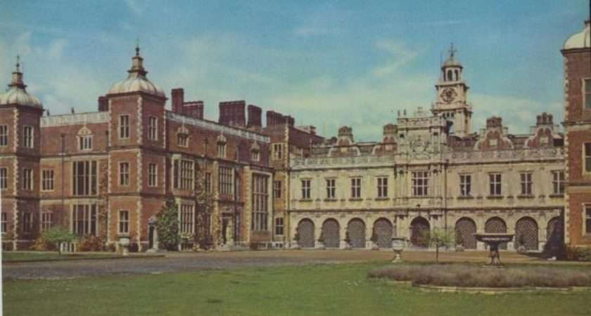 Hertfordshire Hatfield House Famous Country Old Herts