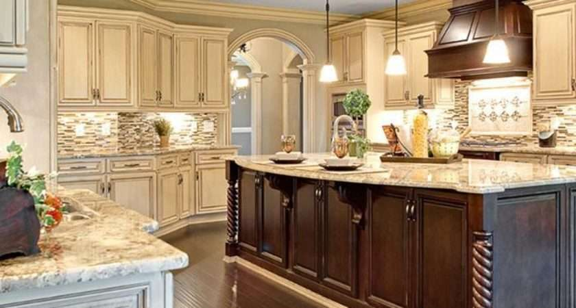 High Quality Cream Colored Kitchen Cabinets Traditional