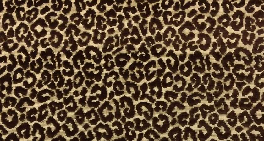 Highland Court Chatterly Walnut Brown Leopard Epingle