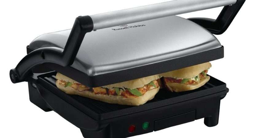 Hobbs Panini Grill Griddle Slice Sandwich Toaster