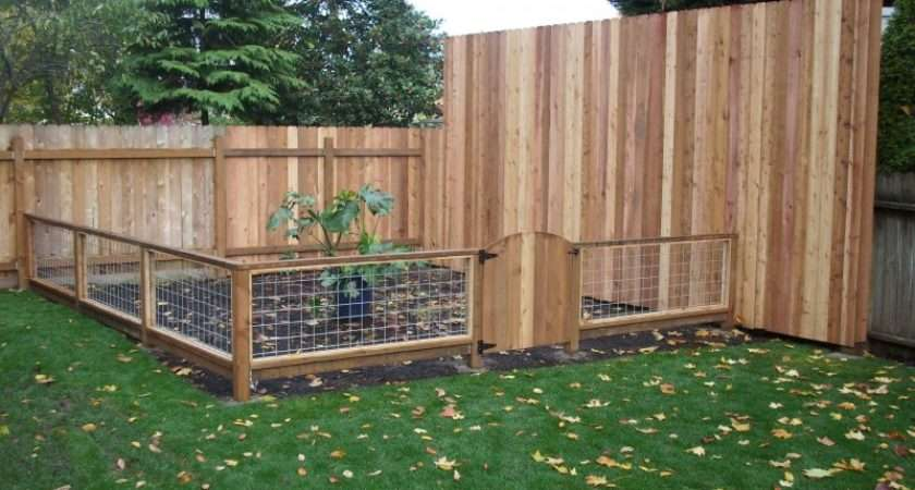 Hog Panel Cedar Fences Gate