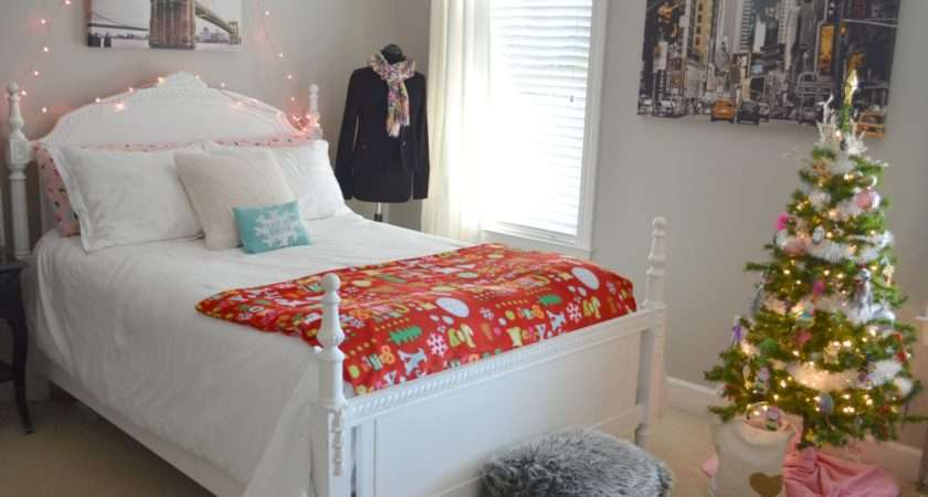 Holiday Decorating Teen Girls Room Tour Home
