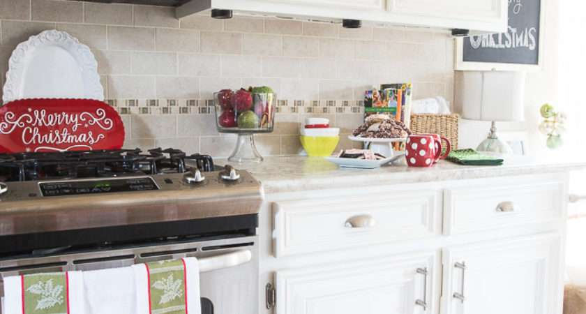 Holiday Kitchen Home Tour Decorchick