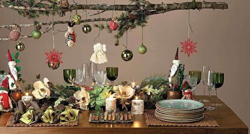 Holiday Mood Love Gorgeous Table Setting Happy Festive
