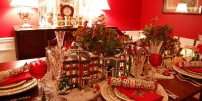 Holiday Table Tablescapes Love