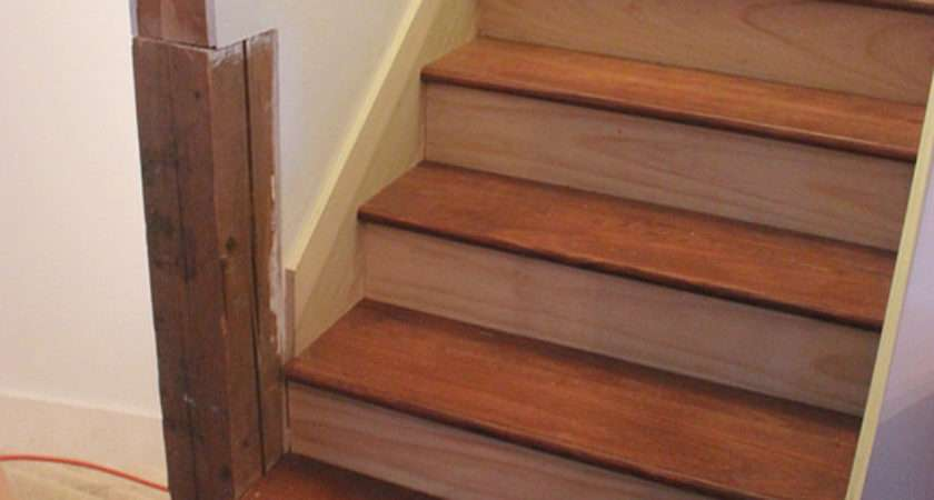 Home Coming Install Stair Tread Risers