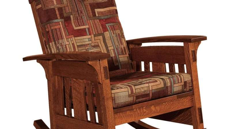Home Decor Tempting Upholstered Rocking Chair Mccoy