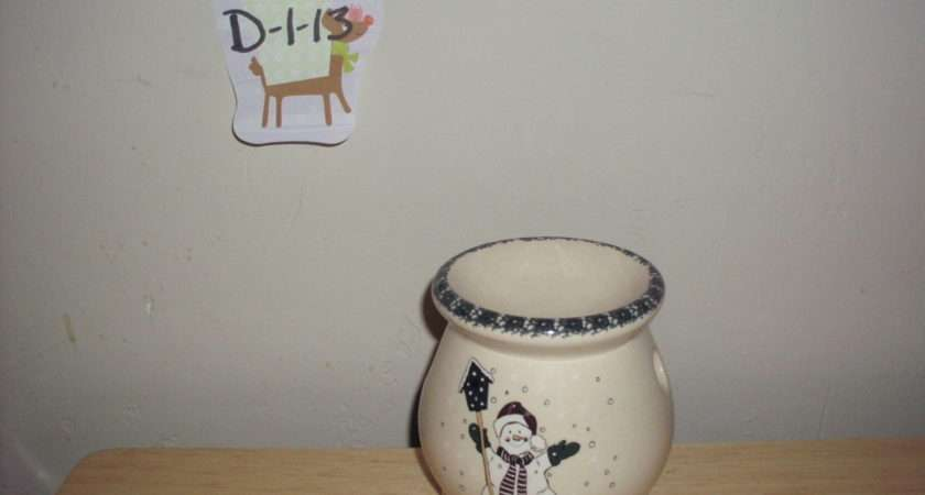 Home Garden Party Snowman Candle Warmer Other
