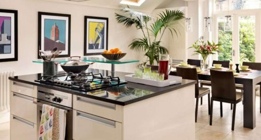 Home Ideas Small Spaces Modern Kitchen Diners