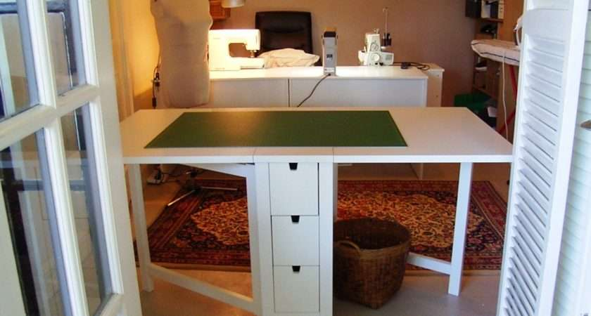 Home Made Couture Decluttered Sewing Room Burda