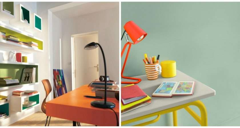 Home Office Ideas Colours