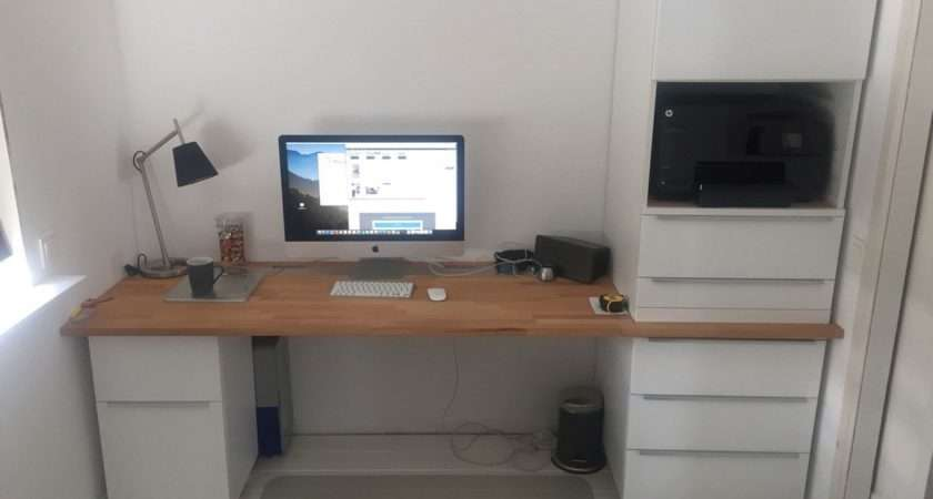 Home Office Ikea Kitchen Cabinets Hackers