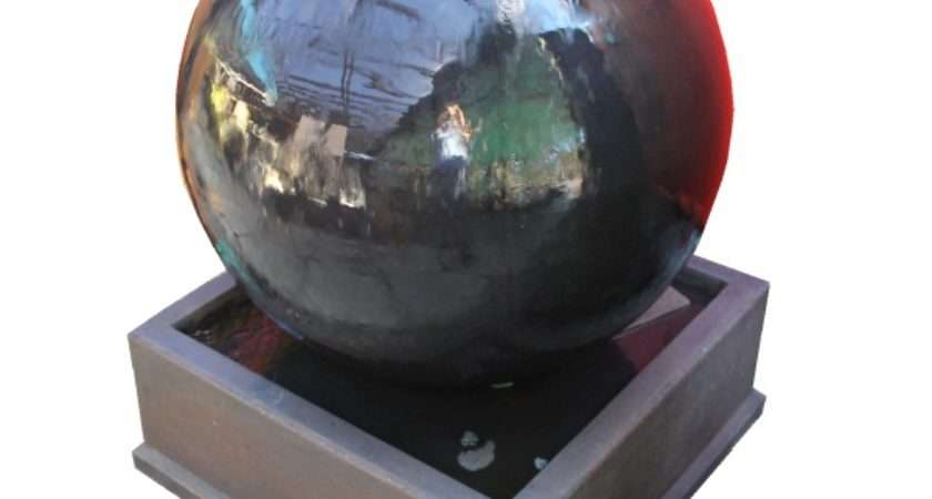 Home Our Pots Planters Sphere Fountain Water Feature