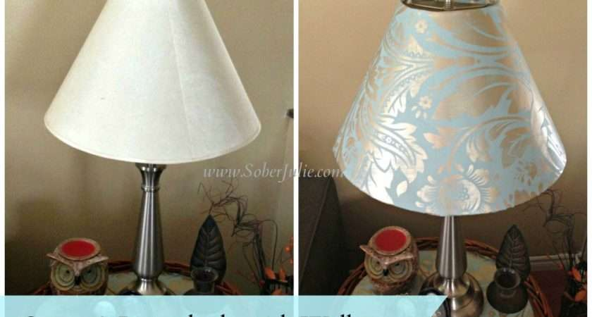 Home Reno Diy Project Cover Lampshade