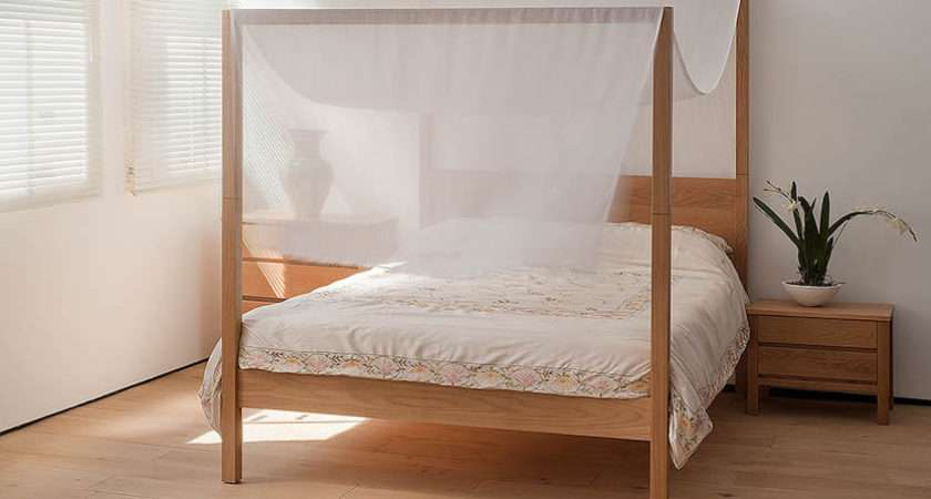 Home Shop Four Poster Bed Oasis