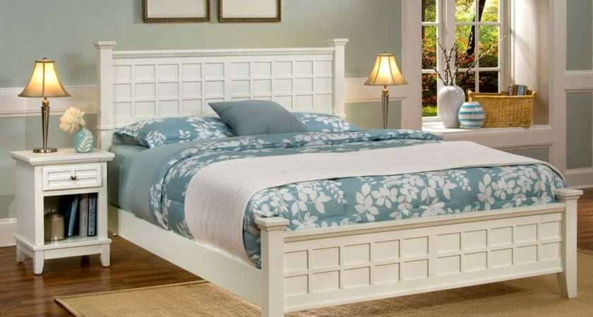Home Styles Arts Crafts Bedroom Set White