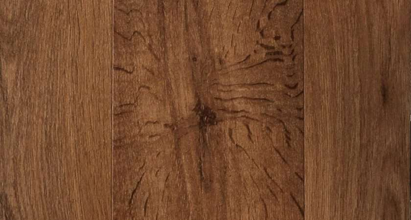 Homebase Textured Wood Effect Laminate Flooring Rustic Oak