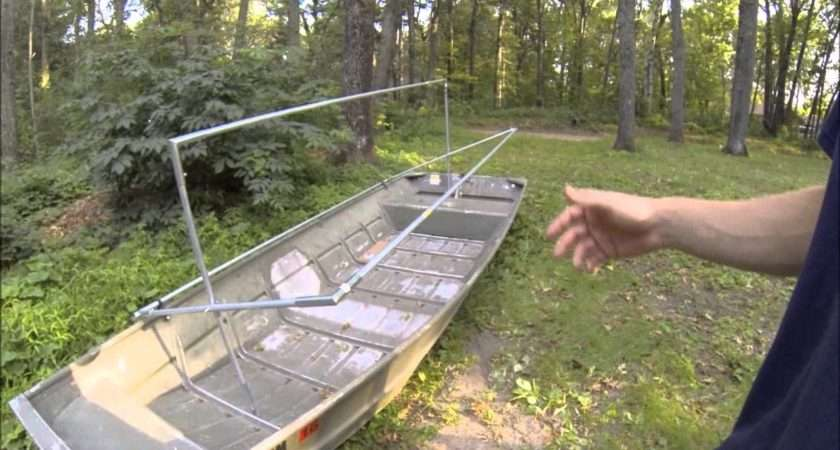 Homemade Duck Boat Blind Plans