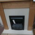Hopwood Oak Fire Suite Includes Surround Electric
