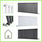 Horizontal Designer Column Radiators Double Single