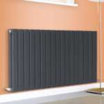 Horizontal Designer Flat Panel Column Radiator Central
