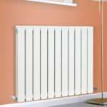 Horizontal Designer Flat Panel Radiator Modern Column