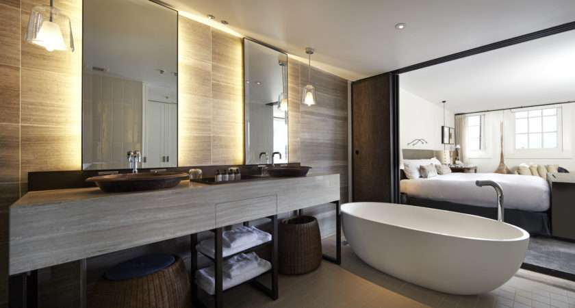 Hotel Bathroom Design Displaying