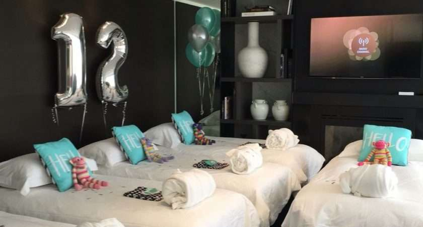 Hotel Birthday Party Teaghan Pinterest
