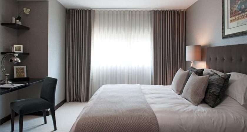 Hotel Style Bedroom Chic Like Idea Curtains
