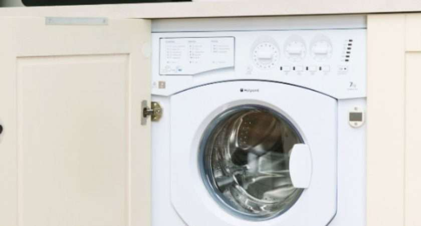 Hotpoint Aquarius Bhwd Built Washer Dryer White