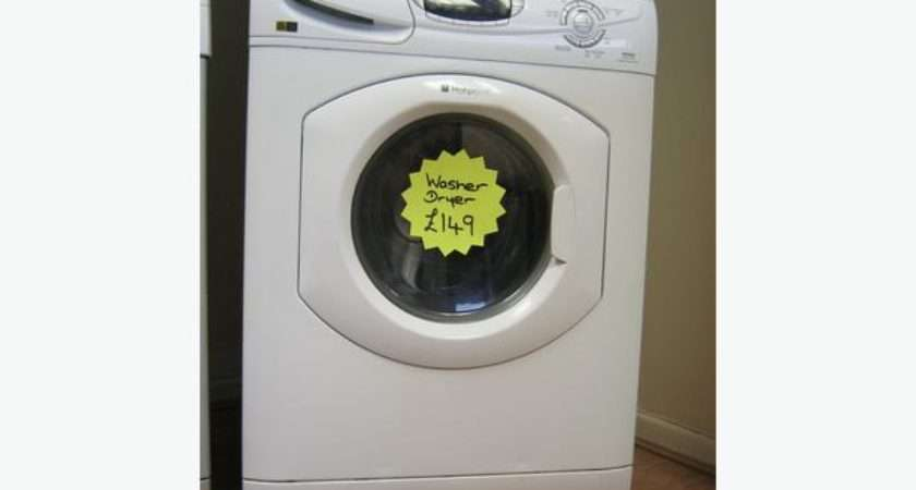 Hotpoint Washer Dryer Spin Digital Display