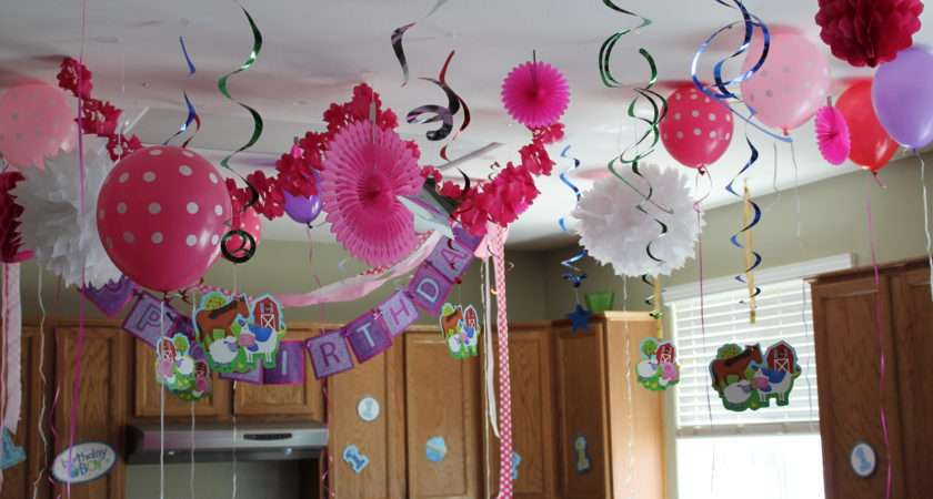 House Decorations Babies First Birthday Party