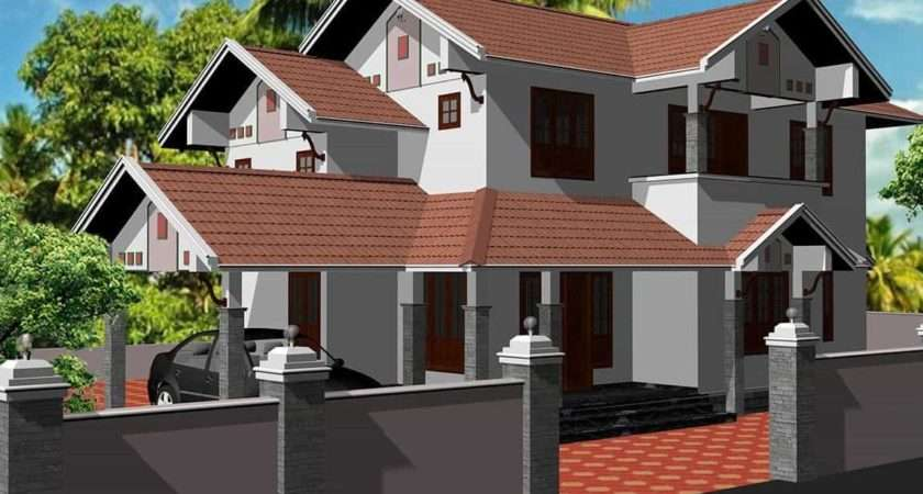 House Design Middle Class Style