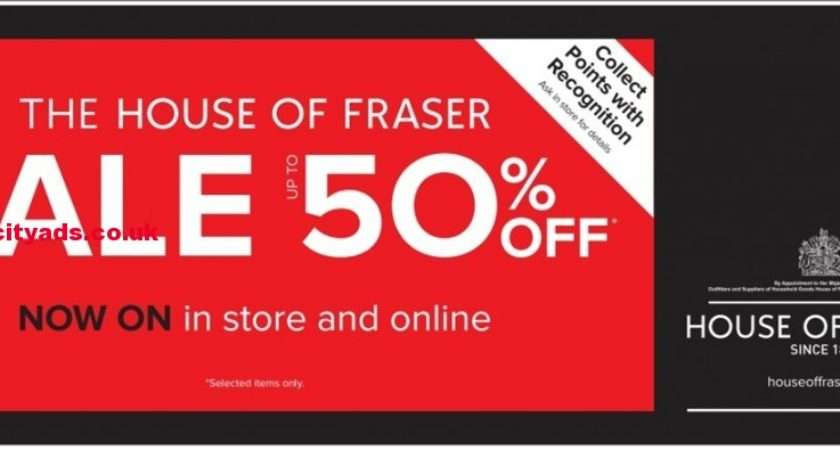 House Fraser Sale Upto Off Now Store