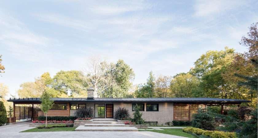 House Goes Modern While Keeping Its Soul Design Milk