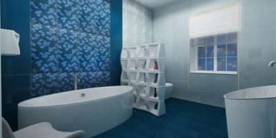 Idea Modern Floor Tiles Design Bathroom Small