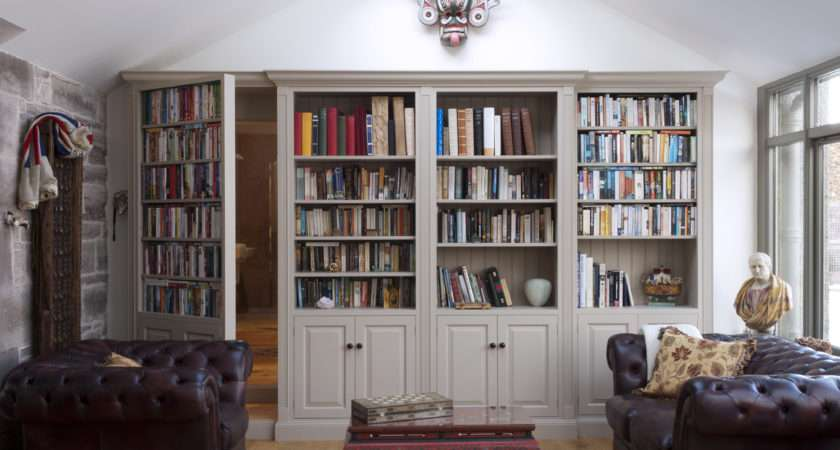 Idea Modification Living Room Bookcase