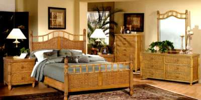 Ideal Wicker Bedroom Furniture Sale Greenvirals Style