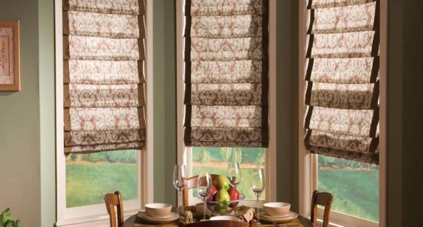 Ideas Bay Window Blinds Home Intuitive