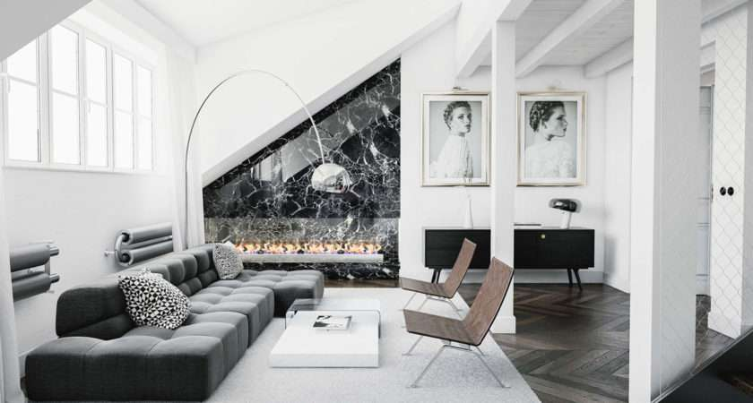 Ideas Black White Chairs Living Room Sophistication