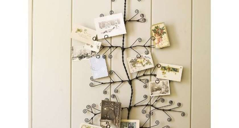 Ideas Christmas Card Holder Find Fun Art Projects
