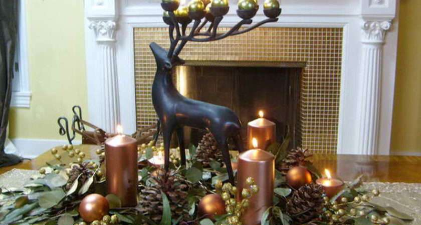 Ideas Christmas Decorating Craft Fireplace