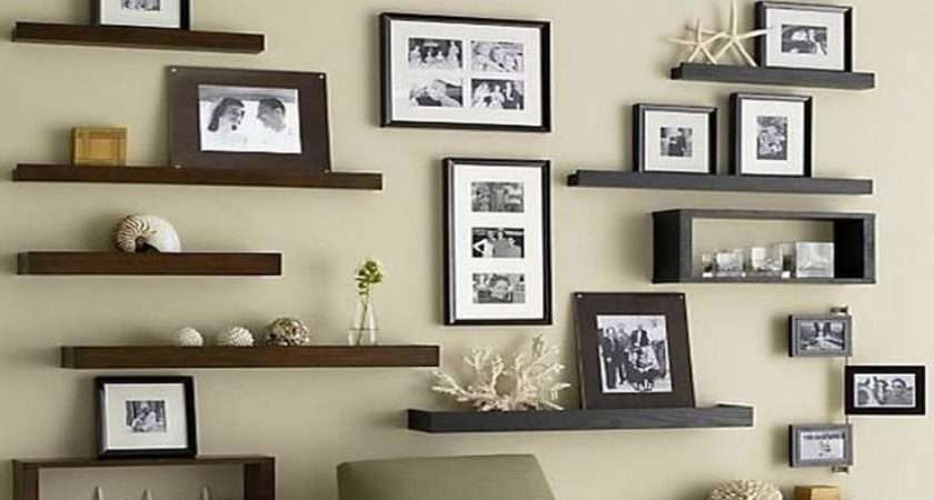 Ideas Diy Floating Shelves Decorate Pinterest