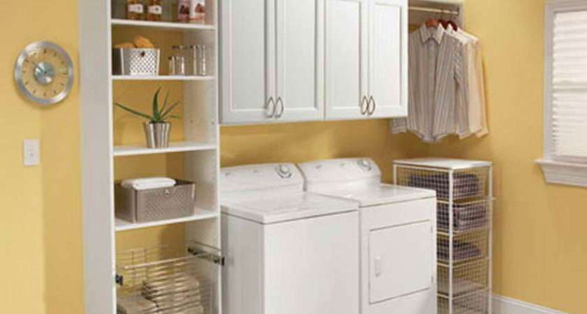 Ideas Functional Pretty Laundry Room Small Space